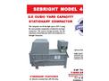 Sebright - Model 4860 - Stationary Compactor (2.0 Cubic Yard Capacity) - Brochure
