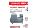 Sebright - Model 4860 - Stationary Compactor (2.0 Cubic Yard Capacity) - Brochure