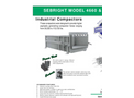 Sebright - Model 4660 & 5260 - Industrial Compactors - Brochure