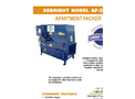 Sebright - Model AP-2430 - Apartment Packer - Brochure