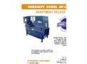 Sebright - Model AP-2430 - Apartment Packer - Brochure