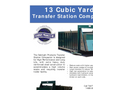 Sebright - Model 12680T-2-7-170-PW - Transfer Station Compactor - Datasheet