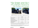 Sebright - Industrial Hydraulic Cart Dumper and Compactor - Brochure