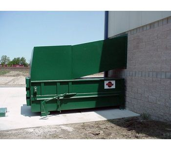 Sebright - Model 4860 - Stationary Compactor (2 Cubic Yard Capacity)