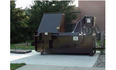 Sebright - Model 5060 - 2.5 Cubic Yard Capacity Commercial Stationary Compactor