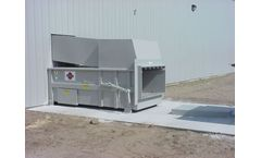 Sebright - Model 5260 - Industrial Stationary Compactor (2.5 Cubic Yard Capacity)