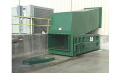 Sebright - Model 6060XHD-2-6 and 6560XHD-2-6 - Industrial Stationary Compactor (3 Cubic Yard)
