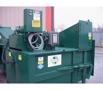 Stationary Compactor (2 Cubic Yard Capacity)-1