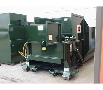 Sebright - Model SC4064 - Self Contained Waste Compactor (2 Cubic Yard Capacity)