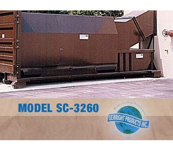 Small Self Contained Compactor (1.3 Cubic Yard Capacity)-1