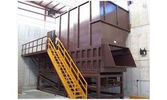 Sebright - Model 9884T - 8 Cubic Yard Capacity Transfer Station Compactor