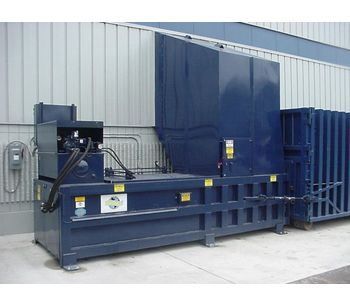 Industrial Stationary Compactor (5 Cubic Yard Capacity)-1
