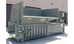 Sebright - Model 9860-1-6, 9860-1-7, and 9860-2-6 - 6 Cubic Yard Capacity Industrial Stationary Compactor