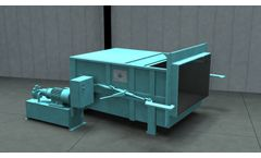 Sebright - Model 3860 - 1 Cubic Yard Capacity Stationary Compactors for Tight Space Requirements