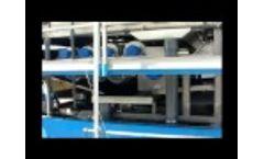 Lagoon Dewatering Bright 2 2 Meter Belt Press - Video