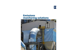 Emissions monitoring solutions