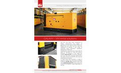 GALAXY - Model VM - Mobile Generators Brochure