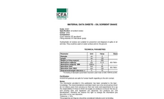 ICEA - Oil Absorbents Booms - Brochure