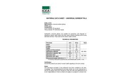 ICEA - Universal Absorbent Pillows - Brochure