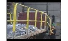 SpeedGuard FlatBed Fall Protection System | Garlock Safety Systems Video