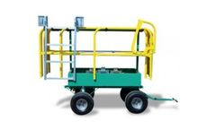 SpeedGuard - Model II - Flatbed Perimeter Fall Protection System