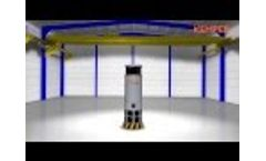 General Ventilation System CleanAirTower for Welding Fume or Dust Extraction Video