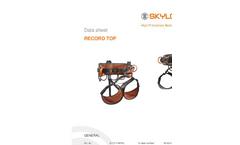 RECORD TOP - Model G 1111 - Harnesses Brochure