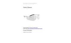 Safety Glasses Brochure