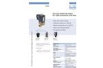 Bürkert - Model Type 0255 - High Pressure Solenoid Valves - Datasheet