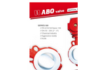 ABO - Model Series 500 - High Performance PTFE Lined Butterfly Valves - Brochure