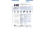 Burkert - Model Type 2012 - Pneumatically Operated 2/2-Way Globe Valve - Datasheet