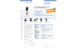 Burkert - Model Type 2002 - Pneumatically Operated 3/2-Way Globe Valve - Datasheet