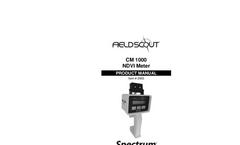 FieldScout - CM 1000 - NDVI Chlorophyll Meter - Manual