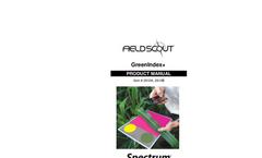 FieldScout GreenIndex plus - Manual