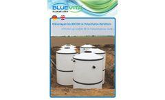 Bluevita - Model STP - Fully Biological Sewage Treatment Plants - Brochure