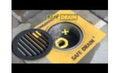 Safe Drain®, #1 In Storm Drain Protection For Over 26 Years - Video