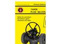 Model 5 - High Pressure Taper Plug Valve Brochure
