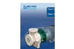 Fybroc - Model 2530 Series - Magnetic Drive Close Coupled Pumps - Brochure