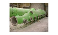Fiberglass (FRP) Pipe for Power Plants & Flue Gas Desulfurization (FGD)