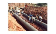 Fiberglass Pipe for Industrial Water & Wastewater (FRP)