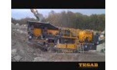 1012TS Primary Crushing Hard Rock Video