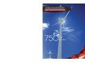 Aeronautica - Model 750kW Series - Wind Turbine - 47m or 54m Rotor - Brochure