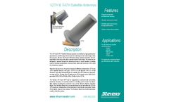 Stevens - Model V2TH/V4TH - Rugged GOES Antenna - Brochure