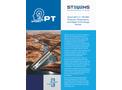 Stevens SmartPT - Model SDI-12 / RS-485 - Pressure, Temperature and Digital Crest Gauge Sensor - Brochure