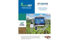 Stevens - Model HydraGO Field Version - Datasheet