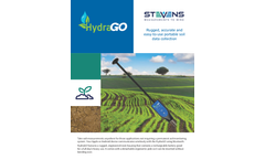 Stevens HydraGO - Rugged, Accurate and Easy-To-Use Portable Soil Data Collection - Brochure