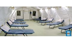 Portable Ward Beds for Mobile Hospitals and Medical Shelters