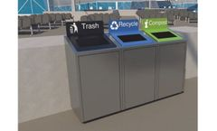 EcoVision - Zero Waste Station Bins