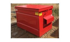 Flat Top Front Load Container