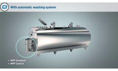 MP Powertank - Closed Type Milk Cooling Tanks - Video